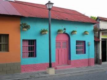Loved these colorful abodes!