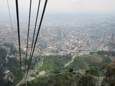 View from the Monserrate cable car