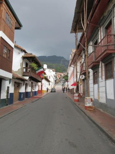 Street scene in La Candelaria