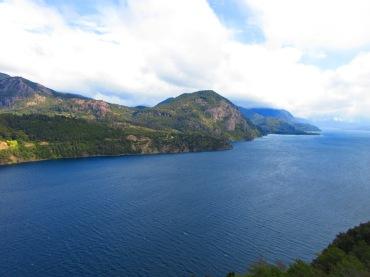 View of Lago Lácar, near San Martin De Los Andes