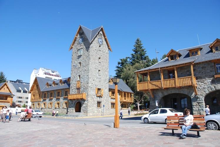 bariloche town square