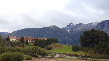 Hotel Llao Llao, as seen from the road (felt too cheeky taking photos inside!)