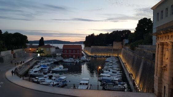 Edge of Zadar's Old City